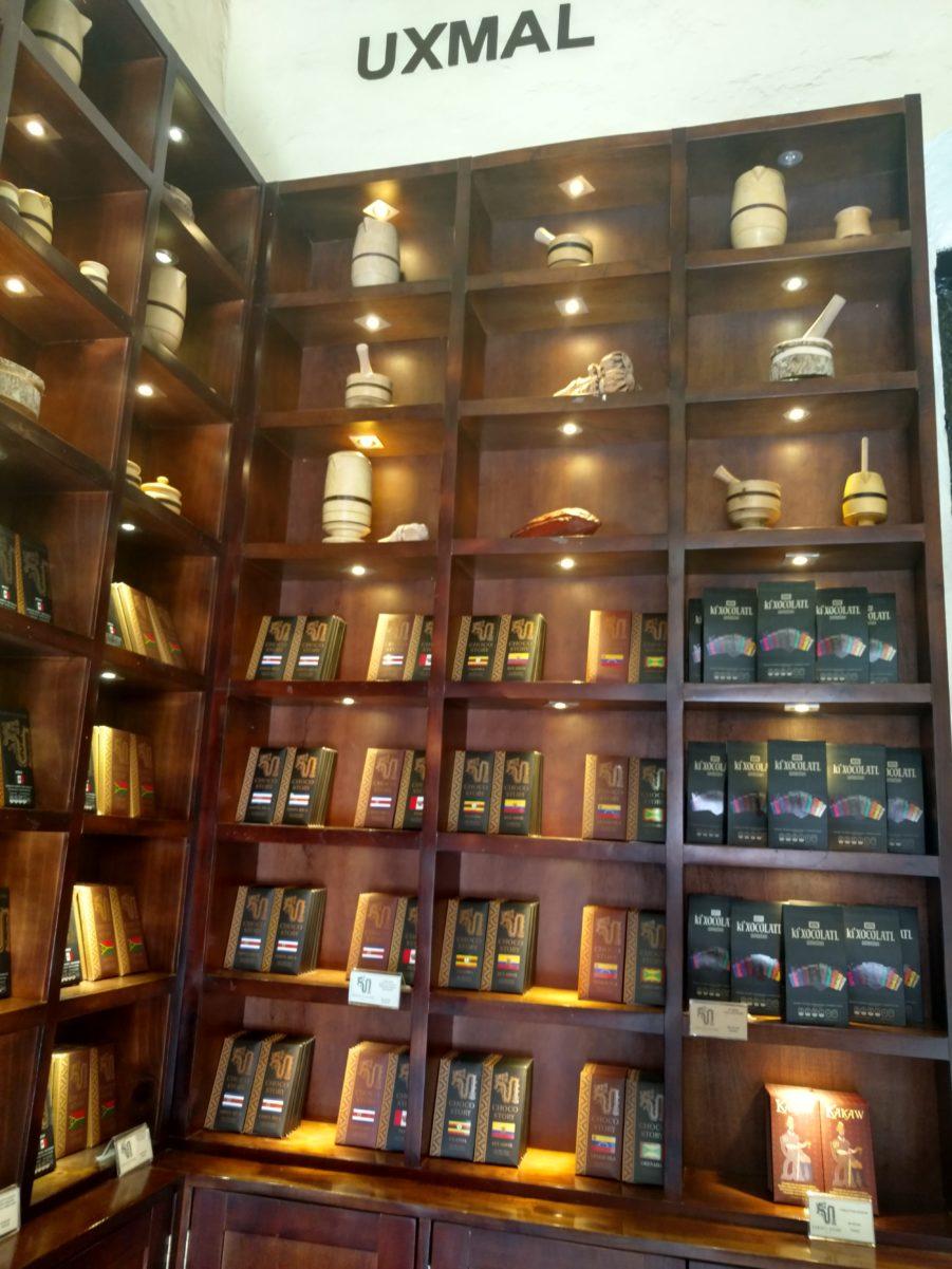 Magasin du musée du chocolat, Valladolid.